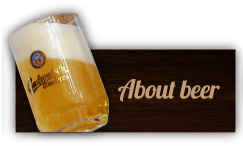 About beer